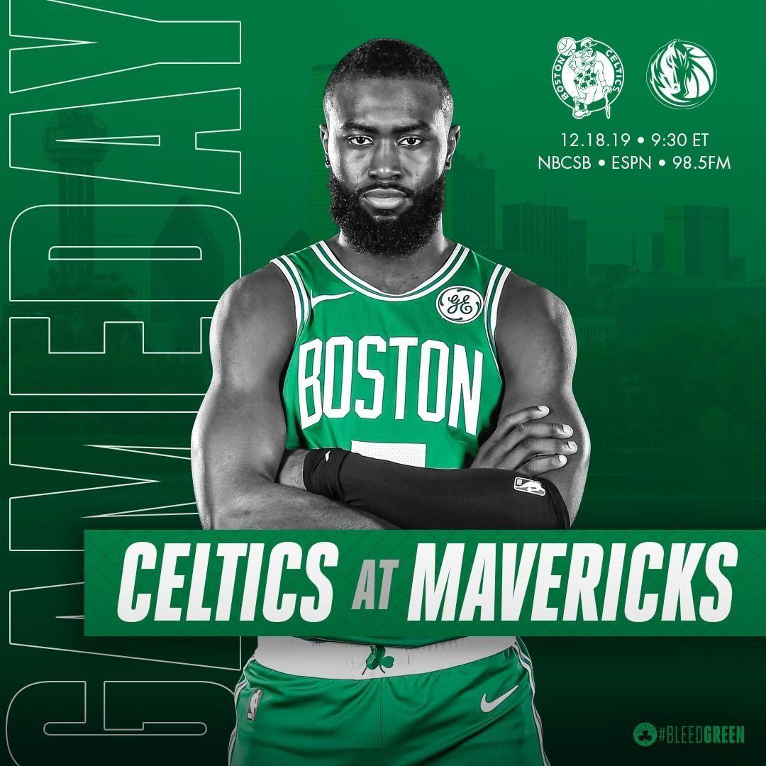 Tonight Celtics At Dallasmavs 9 30 P M On Nbcsboston Espn And 985thesportshub Bosvsdal Bleedgreen Letsgoceltic Boston Celtics Celtic Boston Sports