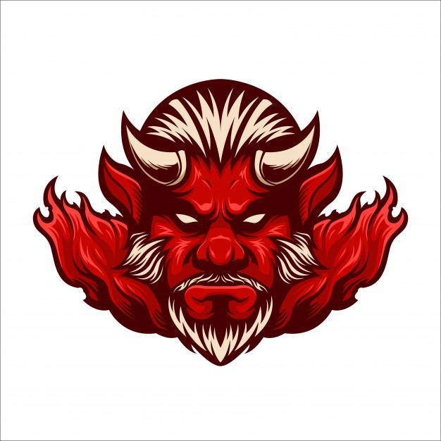 Pin Di Devil Esport Logo