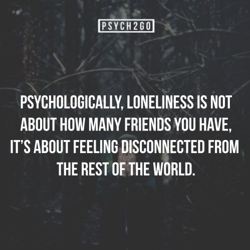 Feeling Disconnected From Life