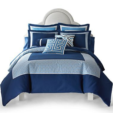 Happy Chic by Jonathan Adler Elizabeth Duvet Cover Set & Accessories ...