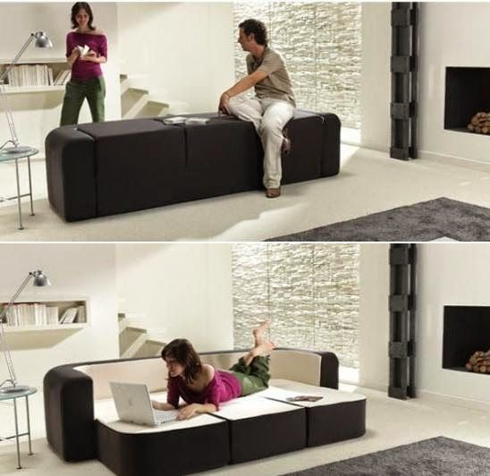 Innovative Sofas 10 innovative and cool convertible sofa designs — bench, bed, or