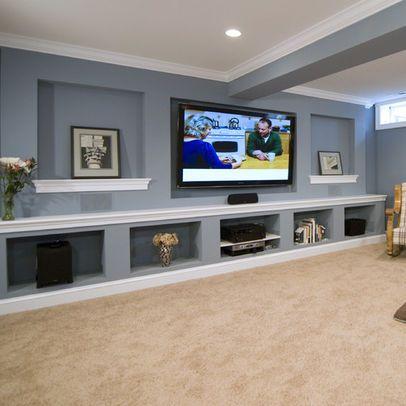 Martha O Hara Interiors Living Rooms Blue Gray Walls Blue Gray Wall Color Beige Carpet Beige Carpeting Wall To Wall Attic Living Rooms Home Grey Carpet