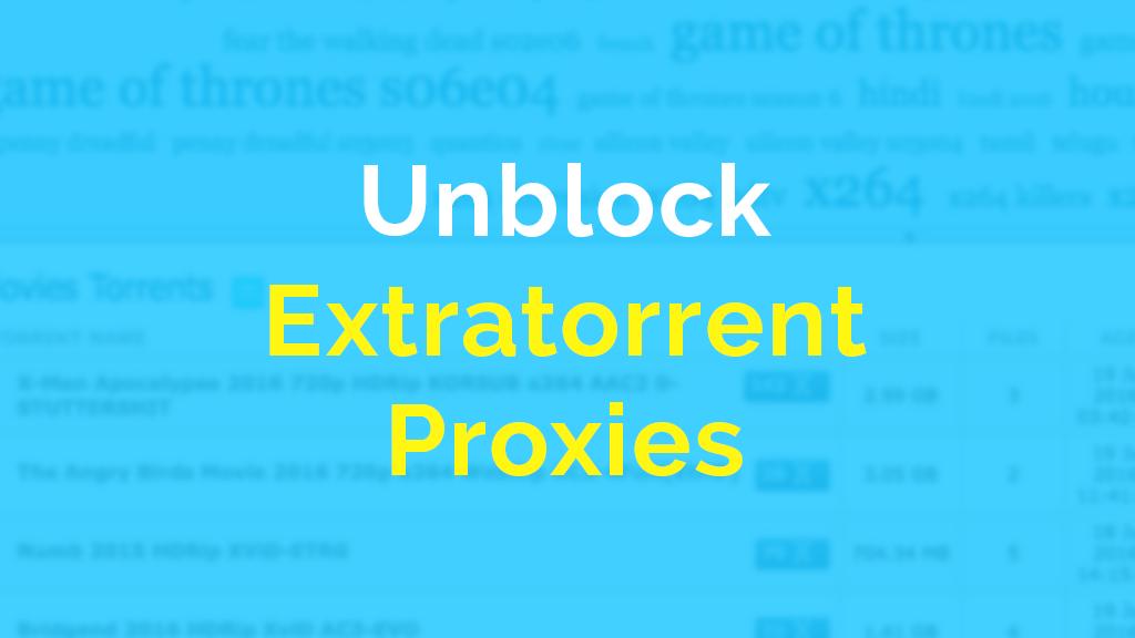 Pin oleh Seo Repute di Extratorrent Unblock Proxy