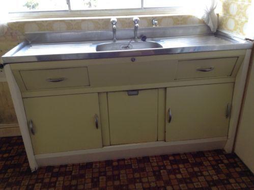 Retro vintage kitchen sink cabinet unit 1960s double drainer retro vintage kitchen sink cabinet unit 1960s double drainer workwithnaturefo