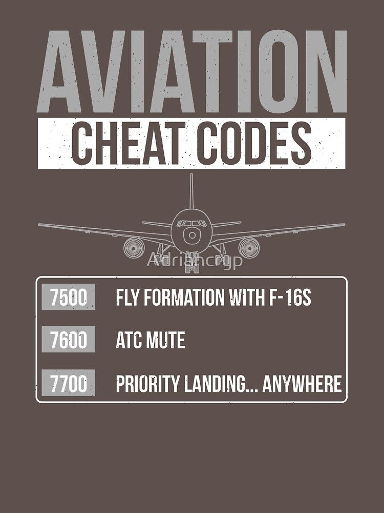 Aviation Cheat Codes Funny Atc Pilot T Shirt Gift Idea Essential T Shirt By Adriancryp Pilot Humor Pilot Quotes Aviation Humor