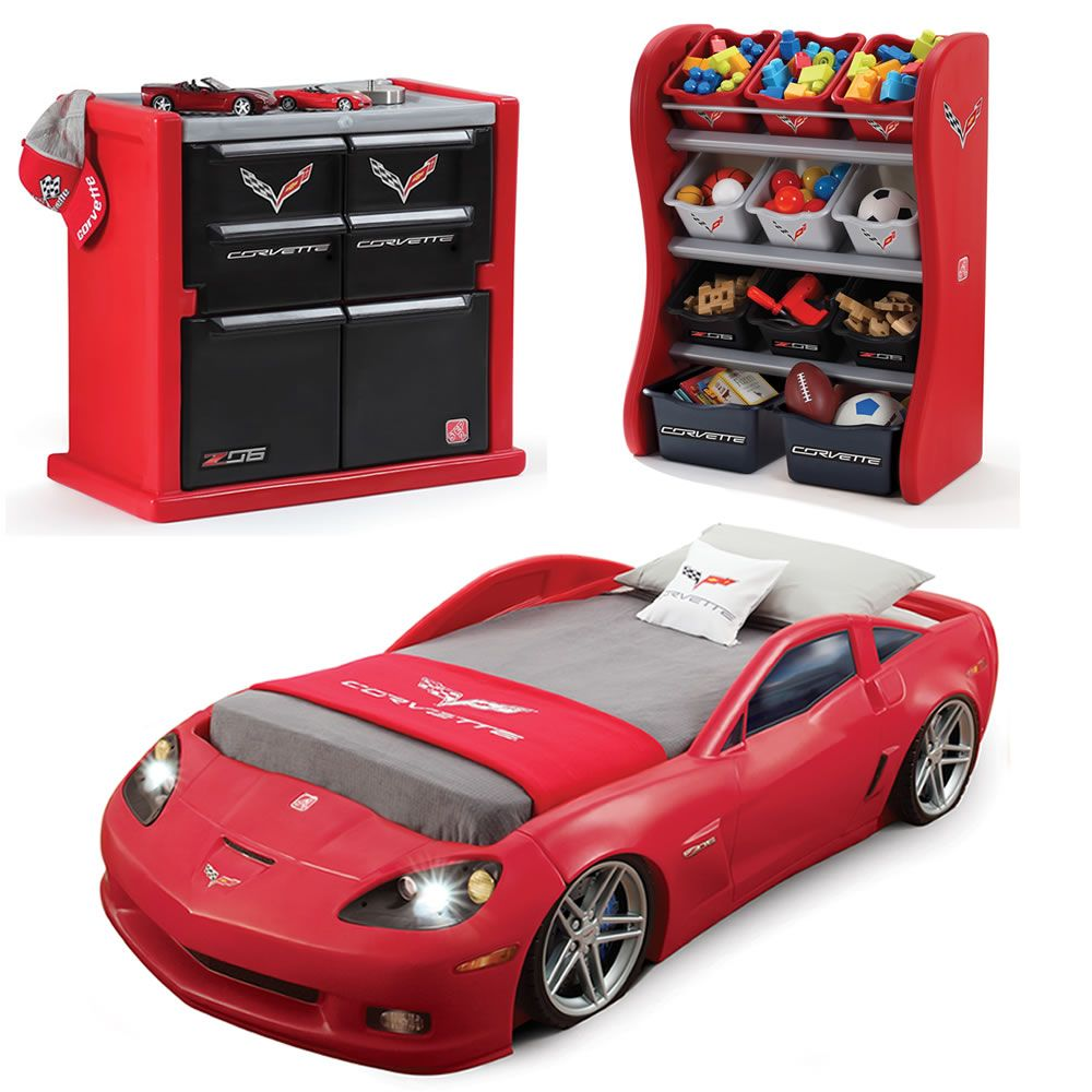 Corvette Bedroom Combo Cars Room Kids Bedroom Sets Kids