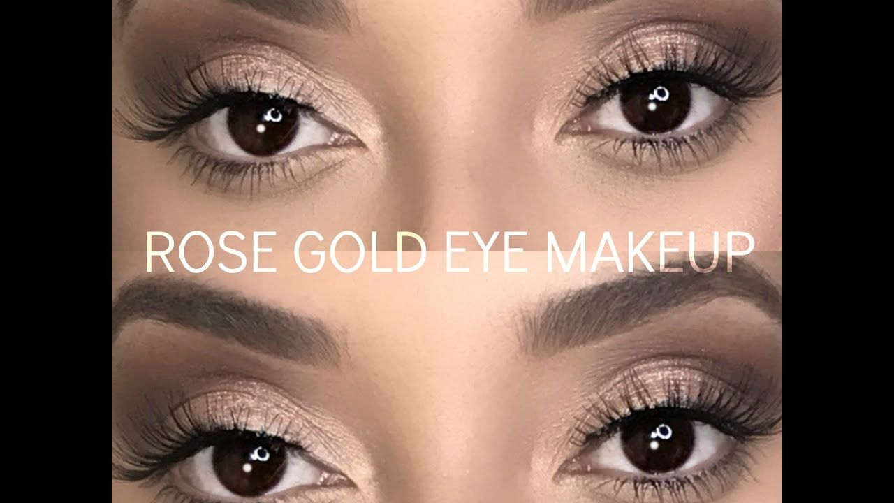 Rose gold eye makeup tutorial taya marin hair by taya marin ive been obsessed with rose gold lately so i decided to a tutorial on a rose gold eye look baditri Image collections