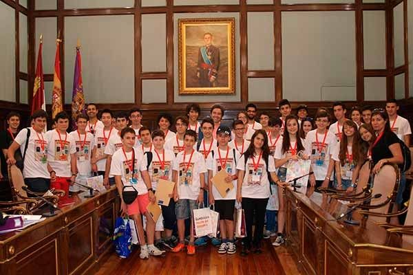 La fase regional de la Olimpiada Matemática se celebra en Guadalajara