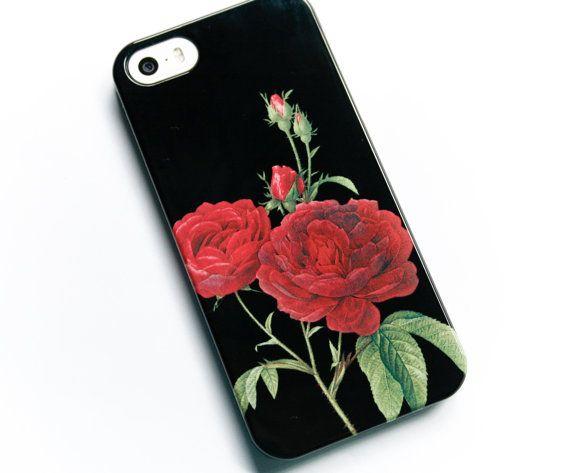 coque iphone xr fleur rose