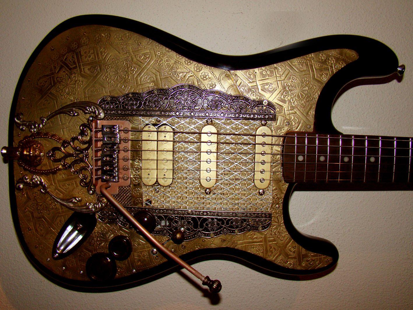 Customized Guitar named Nomad