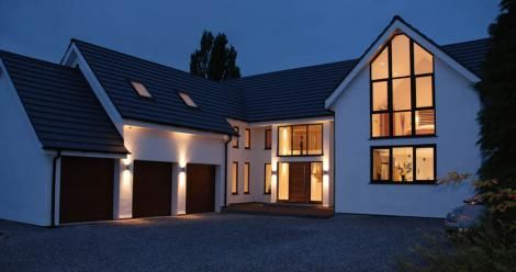 Modern Design Houses In Uk Google Search With Images Barn Style House Minecraft House Designs Modern House Plans
