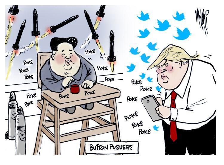 Kim Gone Un by Nate Beeler for Columbus Dispatch ... |Current Political Cartoons North Korea