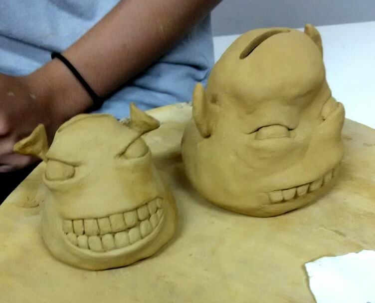 Uph pottery 1. Project 1: coin/ money bank.May 2015. Raivan