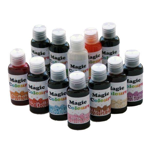 New Magic Colours Pro Liquid Food Dye For Cake Decorating ...