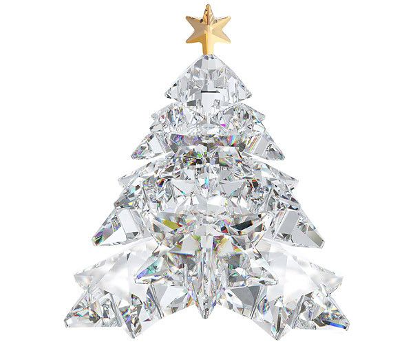Sophisticated And Contemporary, This Clear Crystal Tree