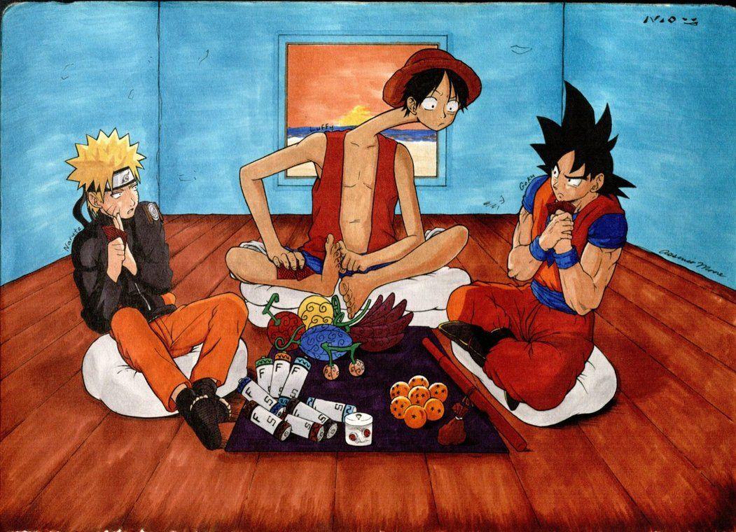 Goku Eating Fast