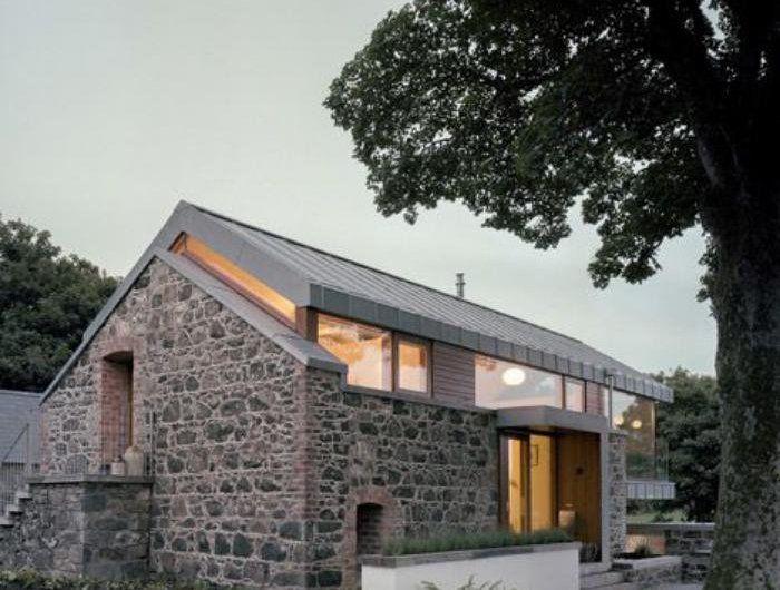 les vieilles granges transform es en maisons lofts construction pinterest. Black Bedroom Furniture Sets. Home Design Ideas