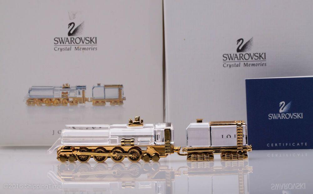 Swarovski Locomotive Crystal Memories Figurine