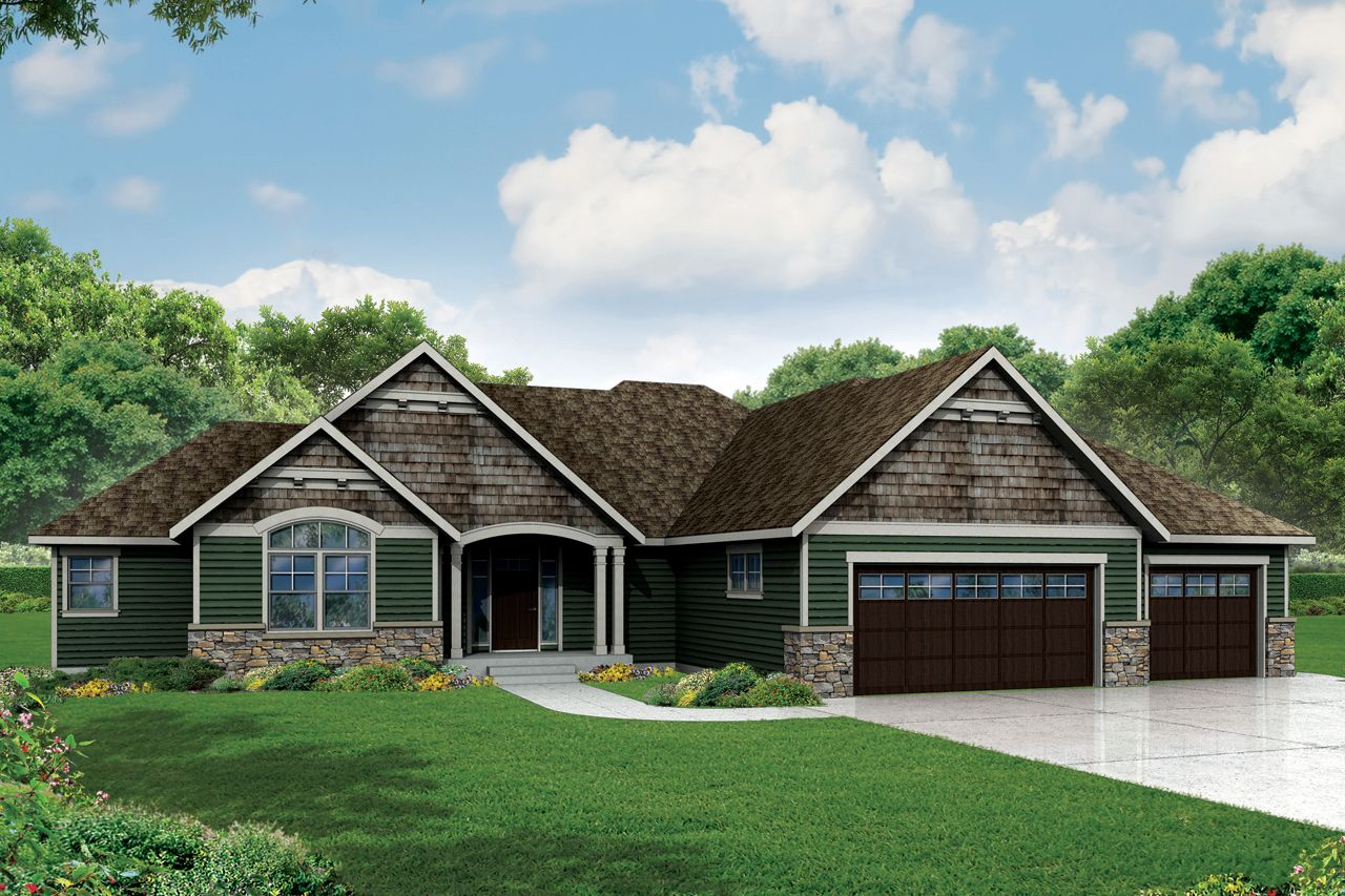 Plan 72800da craftsman ranch home plan with 3 beds Ranch craftsman style house plans