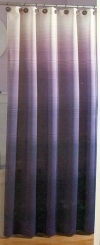 Shower curtain chapel hill ombre shades of purple pink for Purple ombre shower curtain