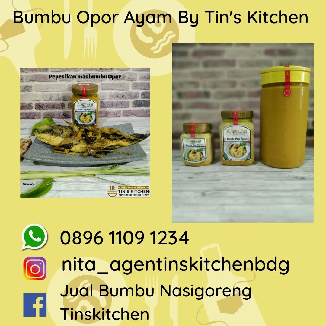 Bumbu Jadi Opor Ayam Kuning Spesial Lebaran 0896 1109 1234 Ayam Memasak Lebaran