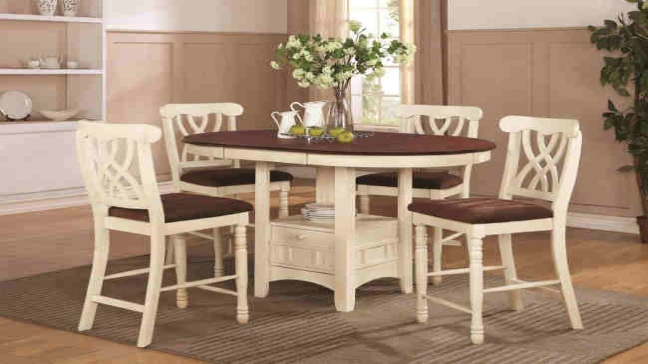 Real wood kitchen table wooden round kitchen table sets