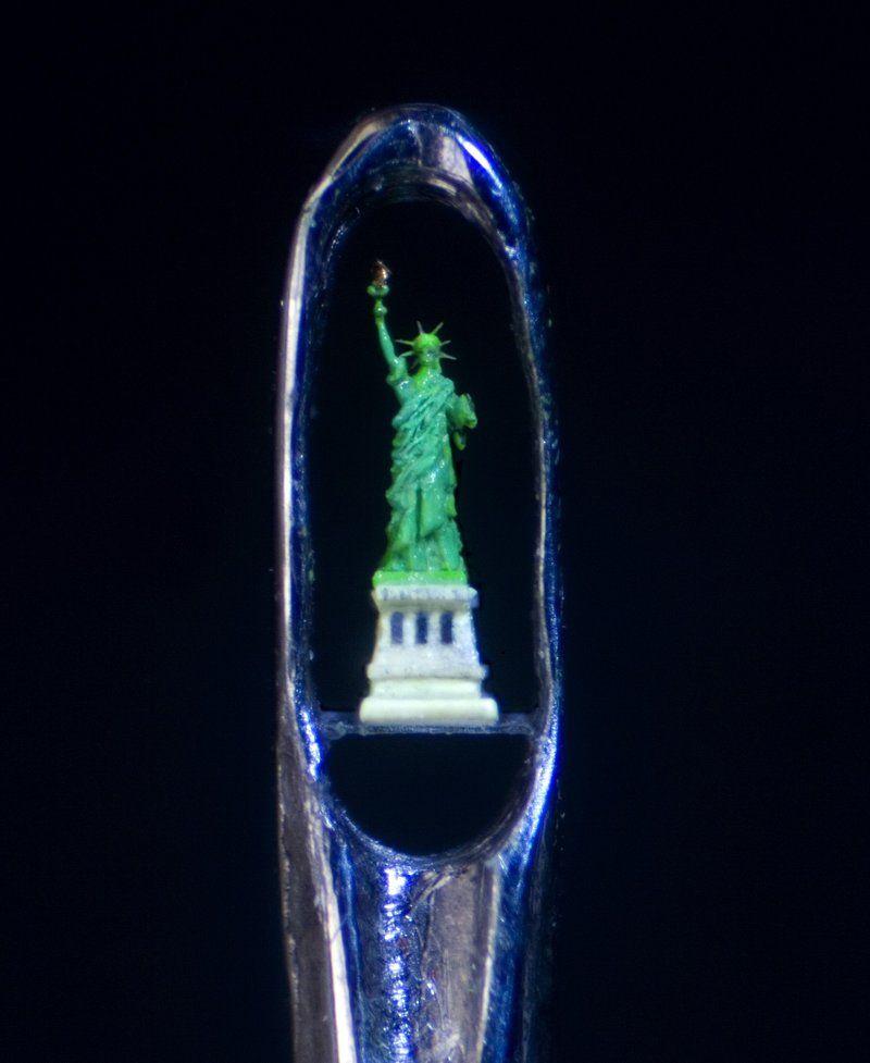La estatua de la Libertad  Willar Wigan