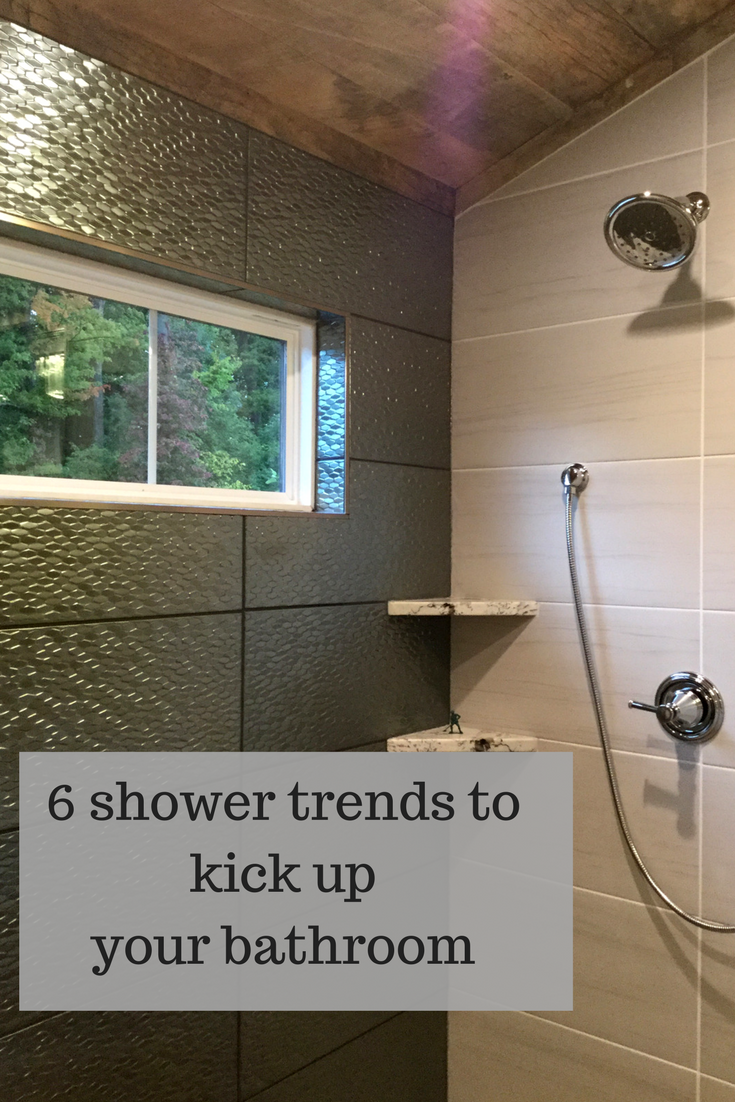 6 Shower Trends To Kick Up Your Bathroom From The 2017 Columbus Inspiration Bathroom Remodeling Columbus Decorating Inspiration