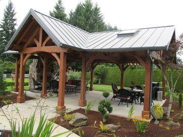 Framework Plus Rustic Patio Backyard Pavilion Outdoor Pavilion Backyard Patio Designs