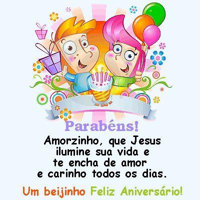 Parabéns Amorzinho Um Beijinho Feliz Aniversário Felicidades