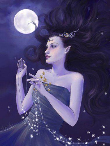 greek goddess selene - Cerca con Google