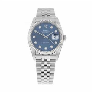 Pre-Owned Rolex Datejust 16234 #rolexdatejust