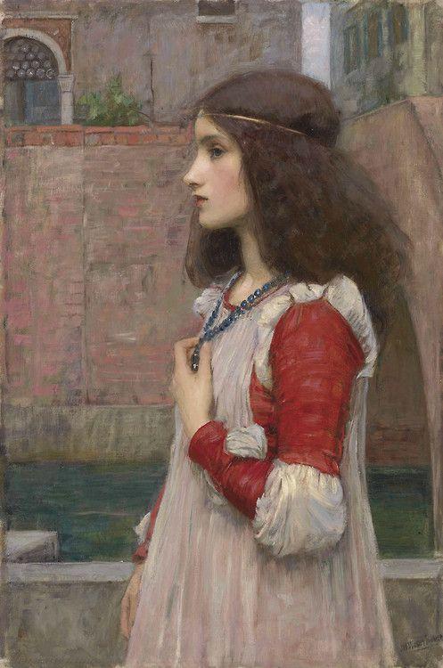 John William Waterhouse (1849 - 1917) - Juliet
