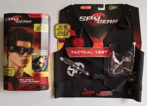 732599bdc88 Spy-Gear-Tactical-Vest-Spy-Specs-Video-Glasses-Gift-Set-Record-Videos -Pics-New