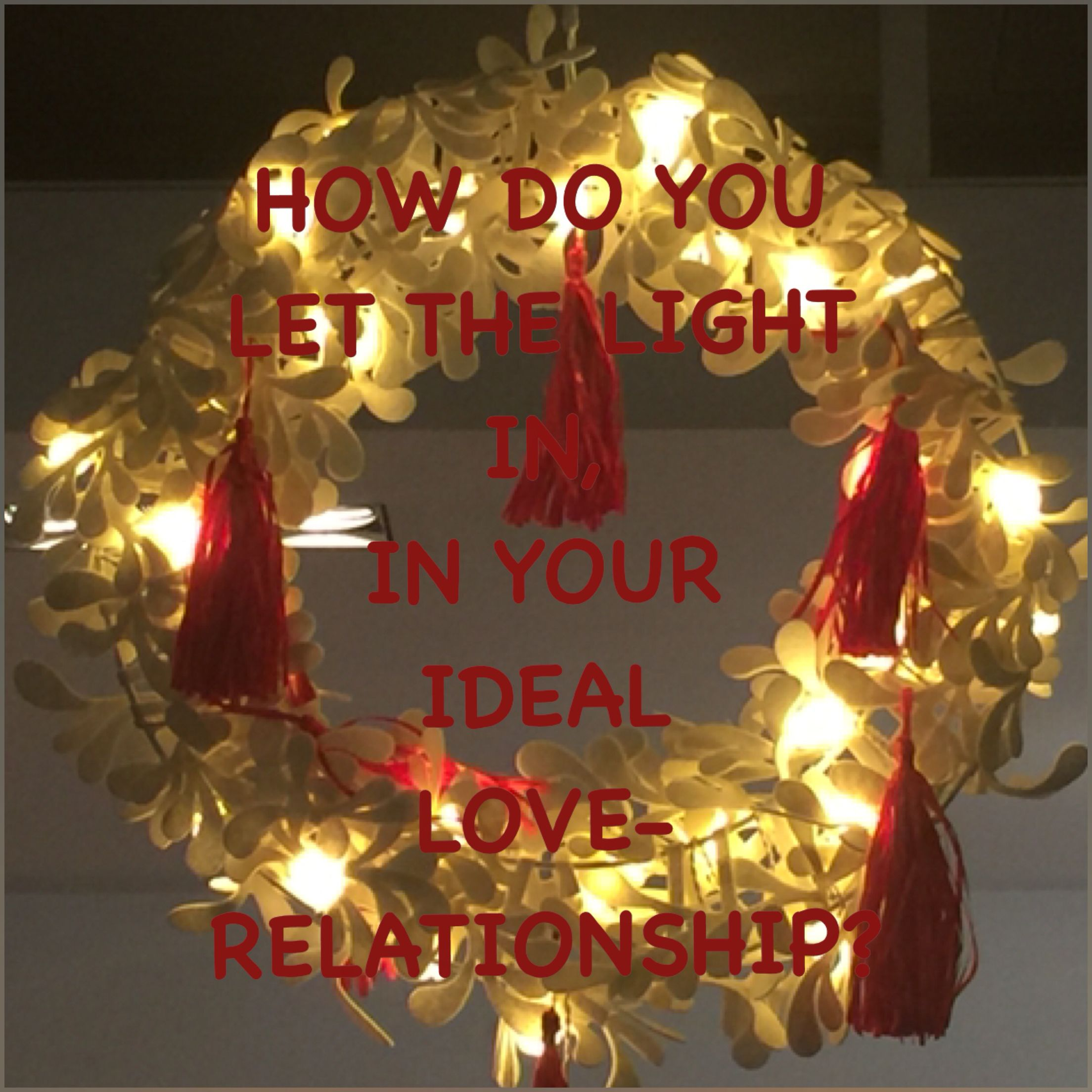 What is your way of letting the light come into your Ideal Love-Relationship? Love and light Shantiom Mumtaz Mahal