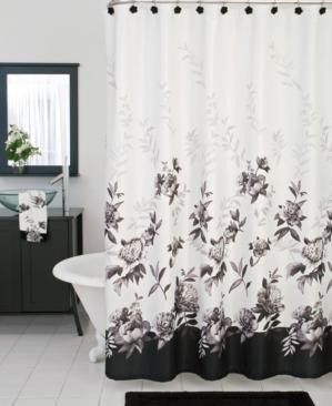 Lenox Other Lenox Bath Accessories Moonlit Garden Shower Black Shower Curtains Elegant Shower Curtains