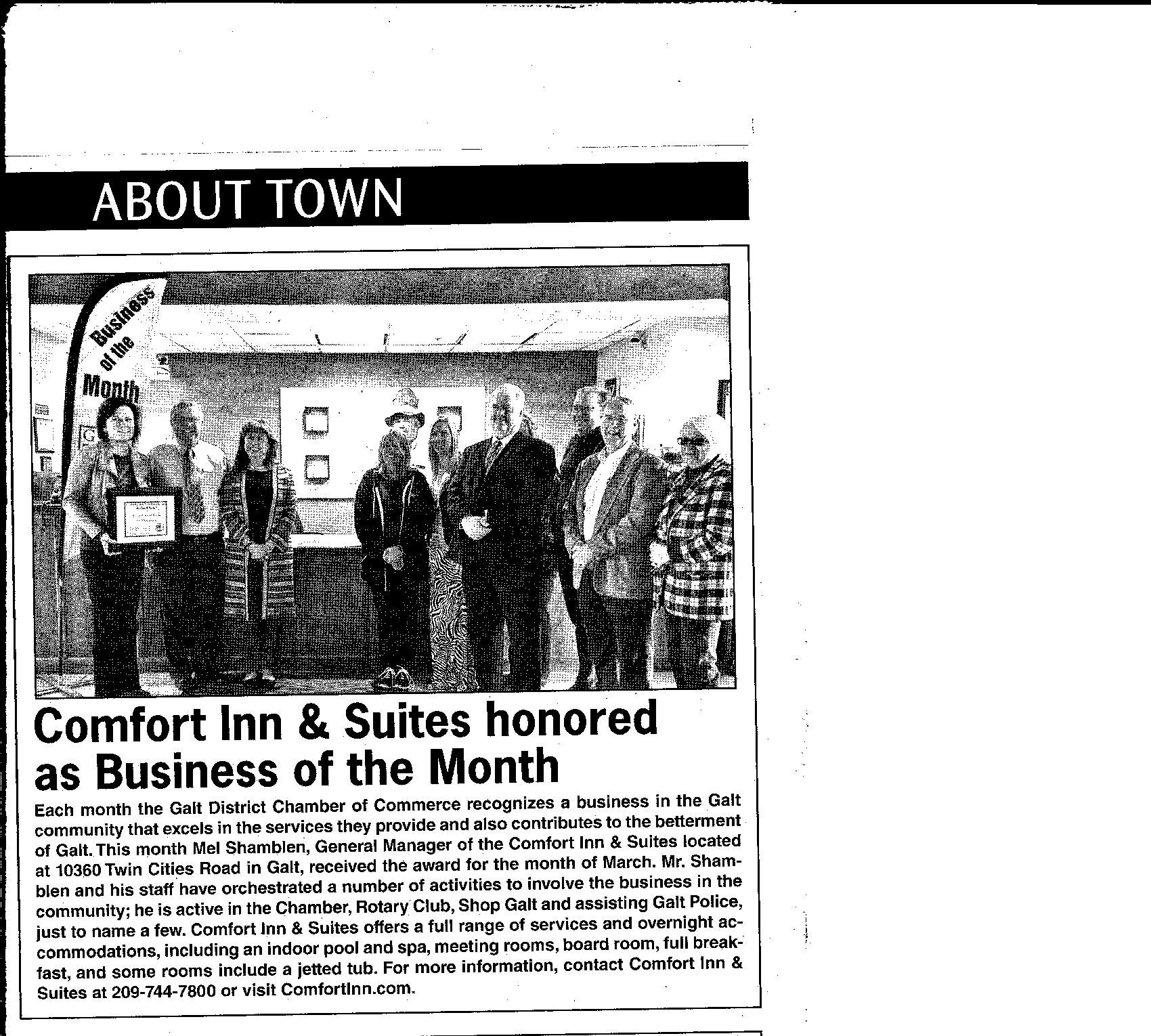 Pin On Galt Business Of The Month