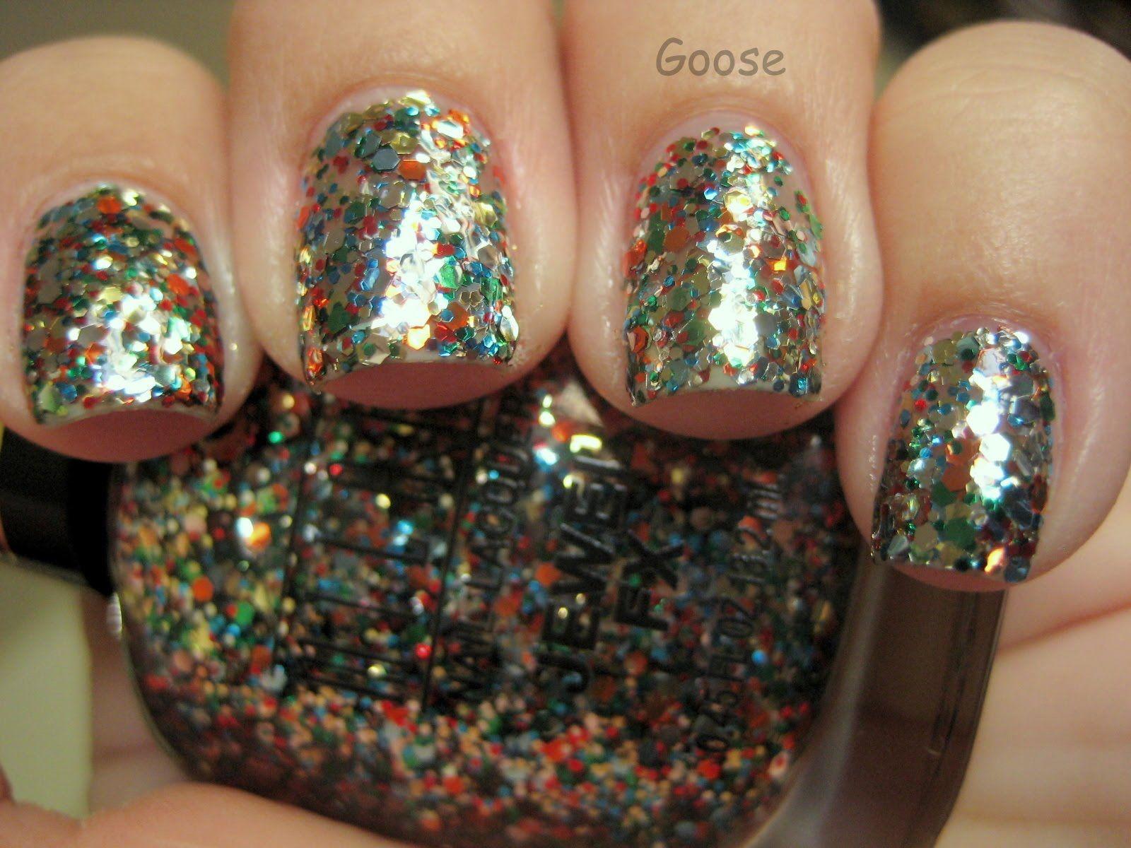 Glitter Ganso: Milani Jewel Muestras de divisas y revisión | Uñas ...