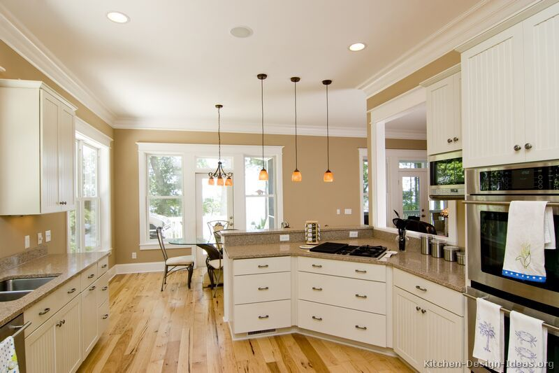 Kitchen Schemes Dark Lowe And White Upper Cabinets