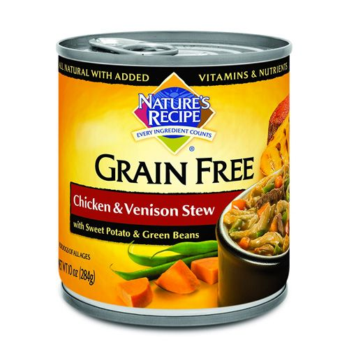 Nature S Recipe Grain Free Wet Dog Food Stews The Product Promoter Grain Free Dog Food Brands Grain Free Dog Food Dog Food Recipes