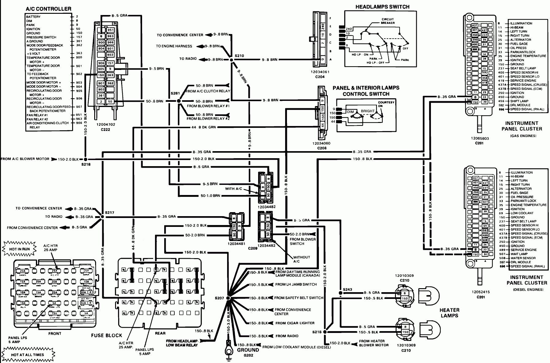 Mack Truck Electrical Wiring Diagram