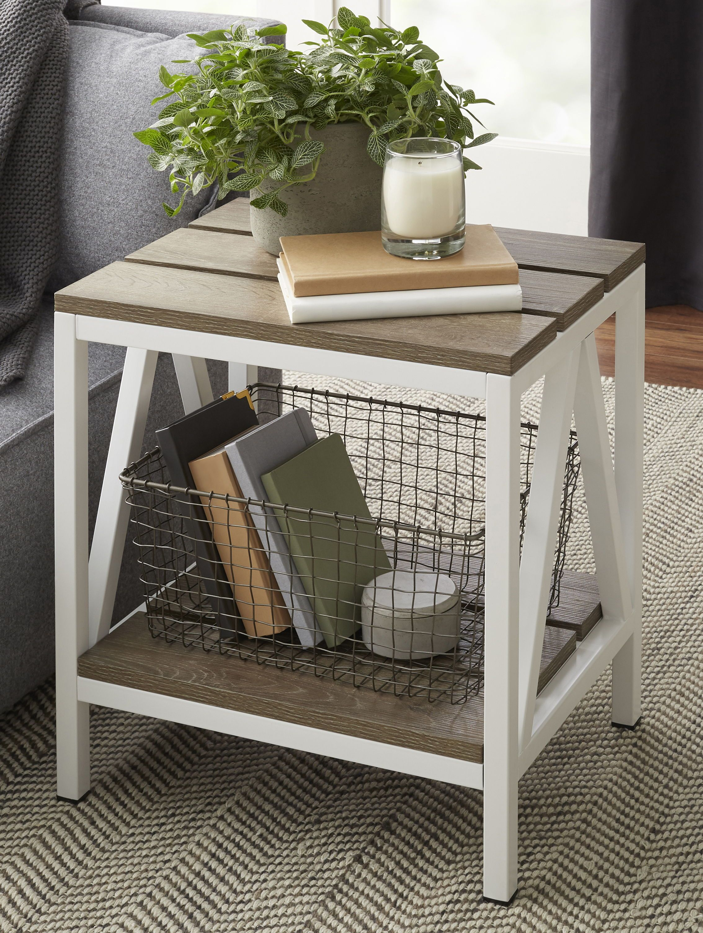 Shop By Brand Table Decor Living Room Side Table Decor Rustic