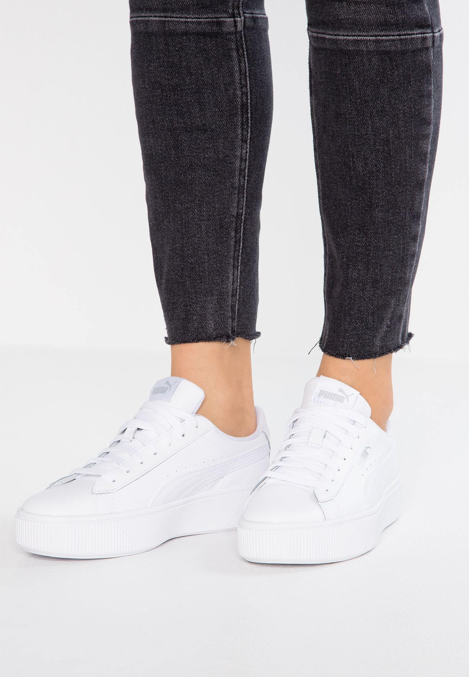 Low Sneaker Stacked Vikky Stacked Sneaker Vikky Low White K1JTlcF