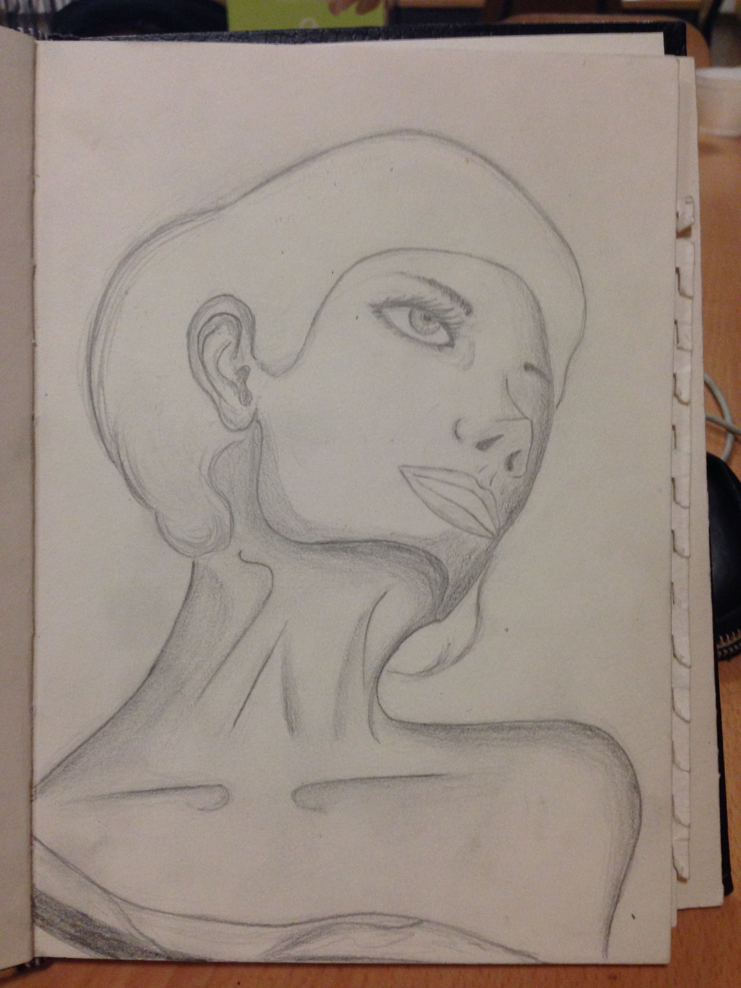 face drawing on a weird angle my artworks pinterest artwork
