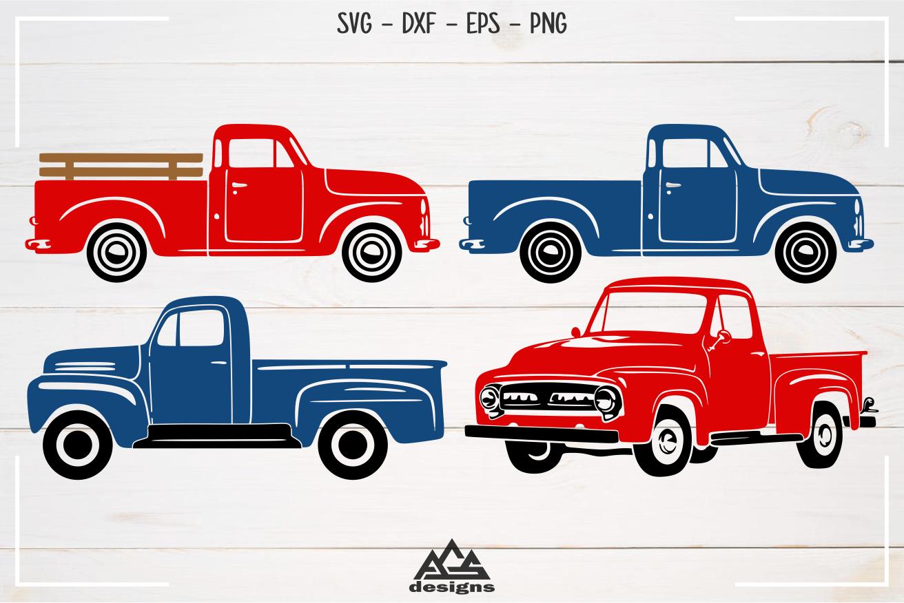 Old Pick Up Vintage Car Vehicle Svg Design Digitanza Vintage Cars Svg Design Car And Motorcycle Design
