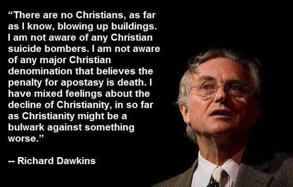 Asleep No More: Surprise Quote From Atheist Richard Dawkins ...