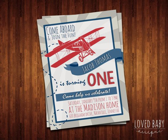 Vintage airplane birthday invitation diy by lovedbabydesigns vintage airplane birthday invitation diy by lovedbabydesigns filmwisefo