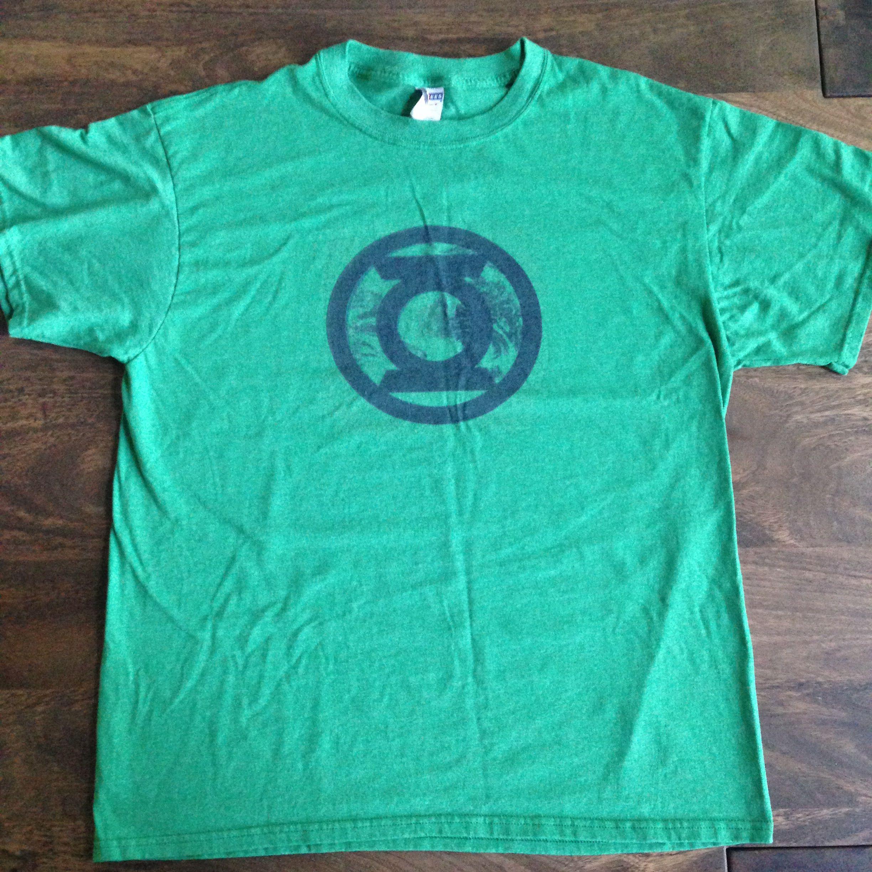 """""""Green Lantern symbol over Earth"""" design by Casual Glitz."""