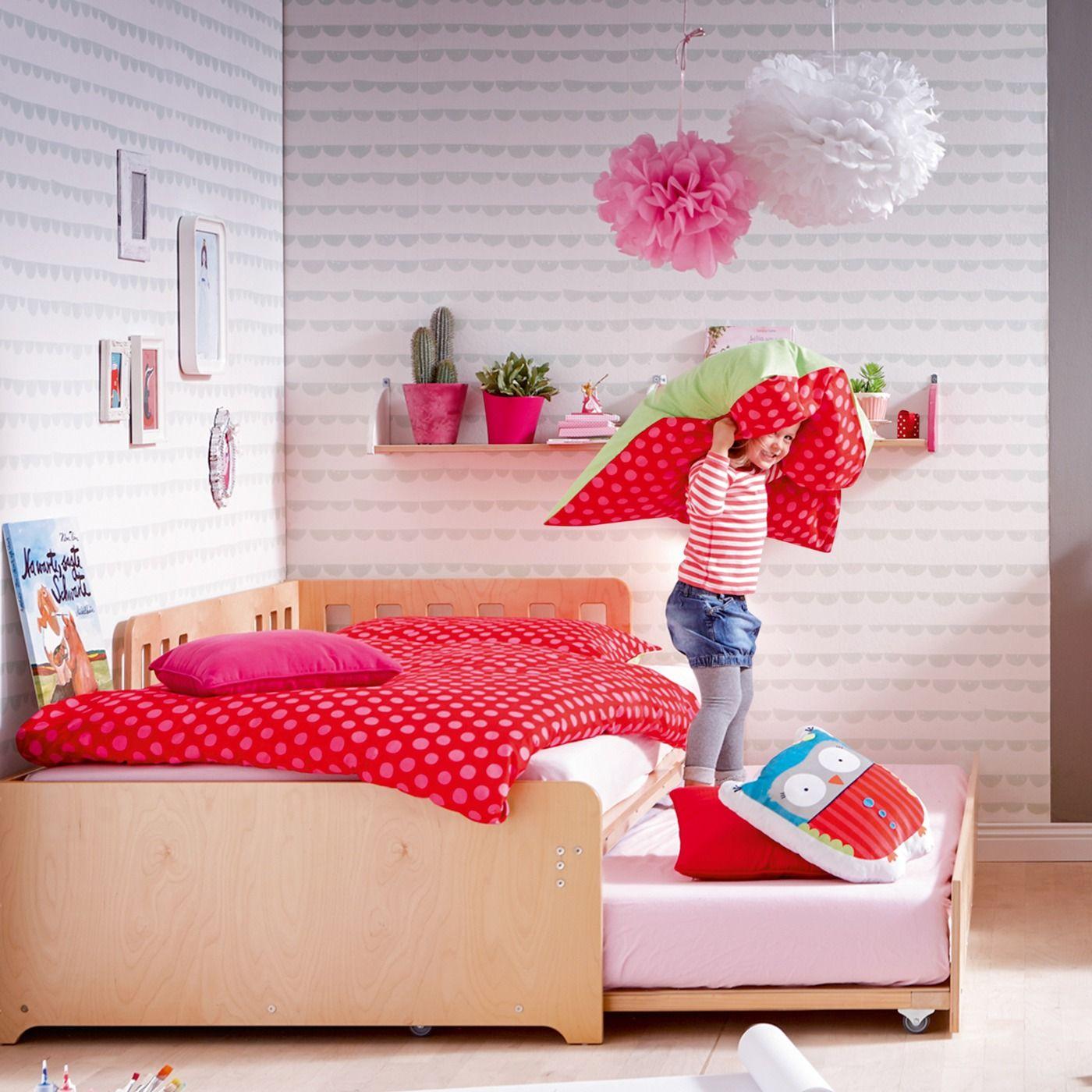 Bett Bine für zwei Kinder JAKO-O, natur   Verwirklichen, Bett und ...