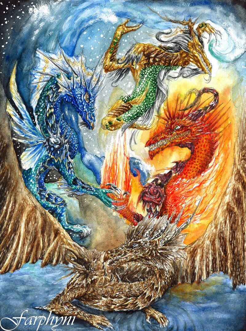 29+ Dragon elements ideas